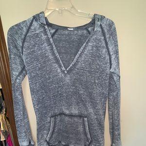 Tops - Grey sweatshirt
